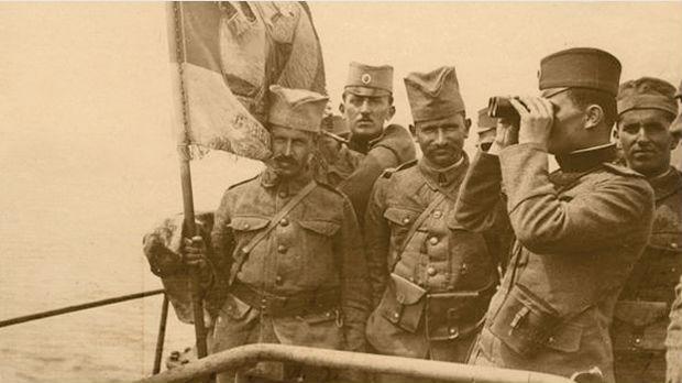 Српски војници на Солунском фронту
