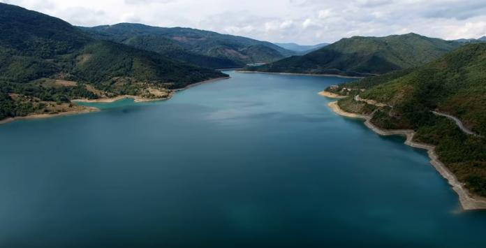 Благо на дну језера Газиводе